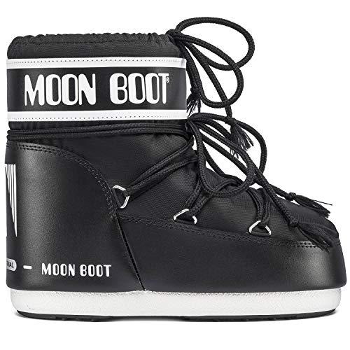 Moon Boot Classic Low 2, Moonboots Femme, Black, 39-41 EU / 6-7.5 UK