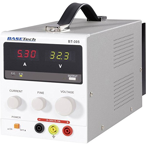 Basetech BT-305 Labornetzgerät, einstellbar 0-30 V/DC 0-5 A 150 W Anzahl Ausgänge 1 x
