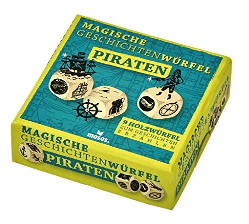 moses. 90242 - Magische Geschichtenwürfel, Piraten