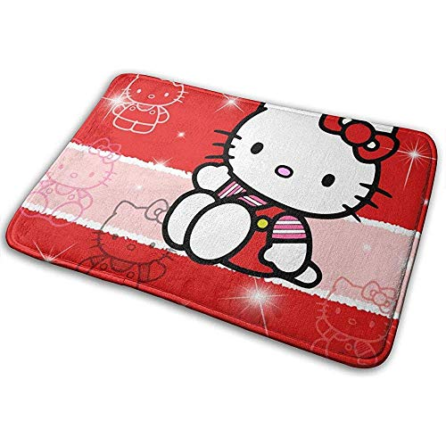 Antislip Welcome deurmat Lovely Hello Kitty Indoor Outdoor ingang tapijt voetmatten schoenkrabber 40cm x 60cm