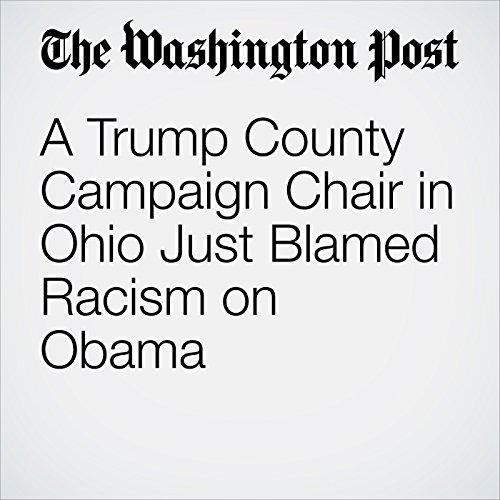 A Trump County Campaign Chair in Ohio Just Blamed Racism on Obama audiobook cover art