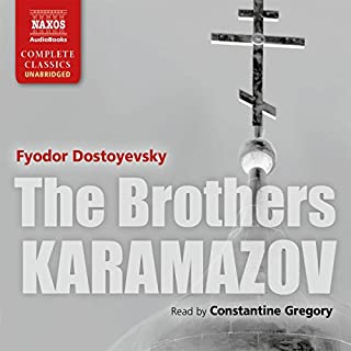 The Brothers Karamazov [Naxos AudioBooks Edition]                   Written by:                                                                                                                                 Fyodor Dostoyevsky,                                                                                        Constance Garnett - translator                               Narrated by:                                                                                                                                 Constantine Gregory                      Length: 37 hrs and 4 mins     58 ratings     Overall 4.8