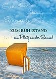 A4 Ruhestandskarte/Abschiedskarte/XL Glückwunschkarte zum Ruhestand/zur Rente im Format DIN A 4 mit...
