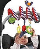 CdyBox Stroller Car Seat Musical Toy for Baby/Cot Spiral Hanging Toy Entertainment BB Travel Activity