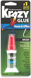 برس و دفتر اداری Krazy Glue On Super Glue، Applicator برس ، 5 گرم