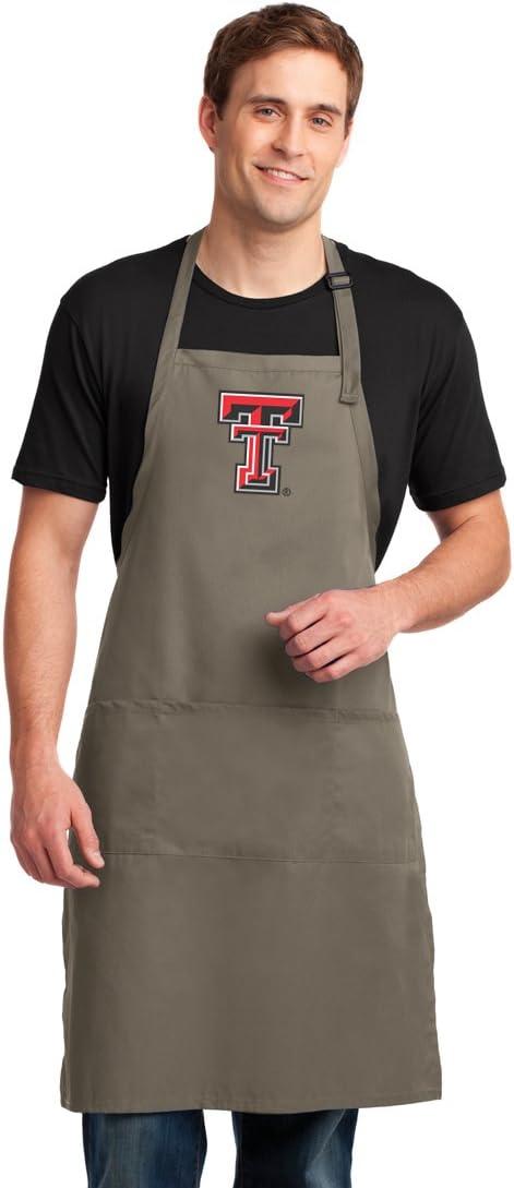 Broad Bay Texas Tech Apron CAMO Texas Tech Aprons for Men or Women
