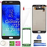 LCD Screen Replacement Touch Display Digitizer Assembly (Black) for Samsung Galaxy J7 2018 J737 SM-J737 J737A / J7 Refine J737P / J7 Crown S767VL /J7 Aero/ J7 V J737V / J7 Star J737T