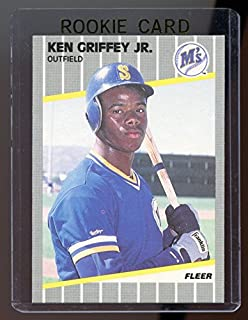 1989 fleer ken griffey jr