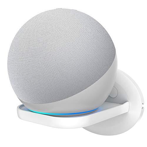 Cozycase Soporte Compatible con Dot, Sonos, Google Home Mini, Google WiFi, Soporte para cámaras de Seguridad, una solución para Ahorrar Espacio para Todo hasta 7 kg - Blanco (1 Pack)