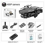Drone Avec Camera Et Ecran Sur Telecommande, Quadcopter Camera WiFi Drone Avec Camera 4k HD 1080P WiFi-FPV