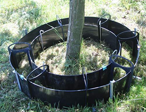 Baum-Umrandung, Flexible Schalungsformen für Betonrandsteine Nr. 385