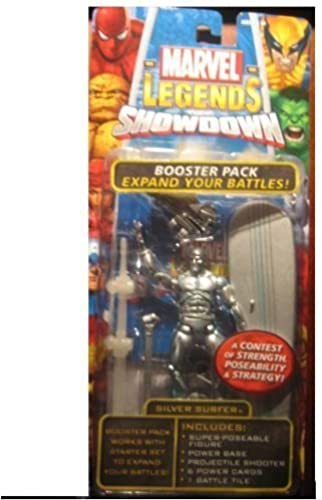 mas preferencial Marvel Legends Legends Legends Showdown plata Surfer by Toy Biz by Toy Biz  tomamos a los clientes como nuestro dios