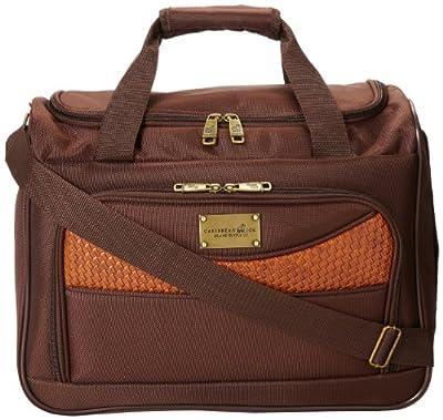 Caribbean Joe 16 Inch Weekend Gadget Bag, Chocolate Brown, One Size by Caribbean Joe