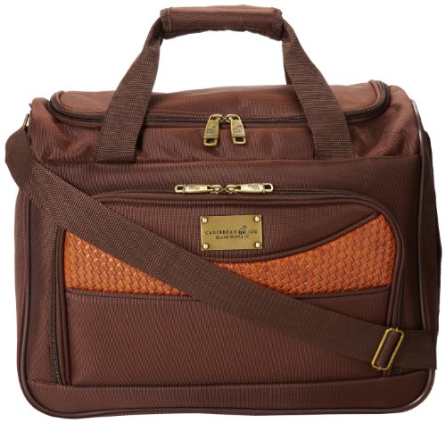 Caribbean Joe 16 Inch Weekend Gadget Bag, Chocolate Brown, One Size