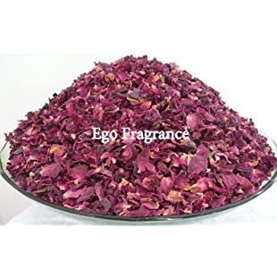 25 grams of Dried Rose Petals -Real Flower Wedding Confetti/Home Fragrance/Crafts by Soothing Ideas by Soothing Ideas®:Maxmartyn