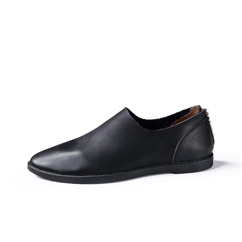 [ワイエルワイ] シューズ ビジネス メンズ 通気 防滑 カジュアル 耐久 ハイキング 革靴 軽量