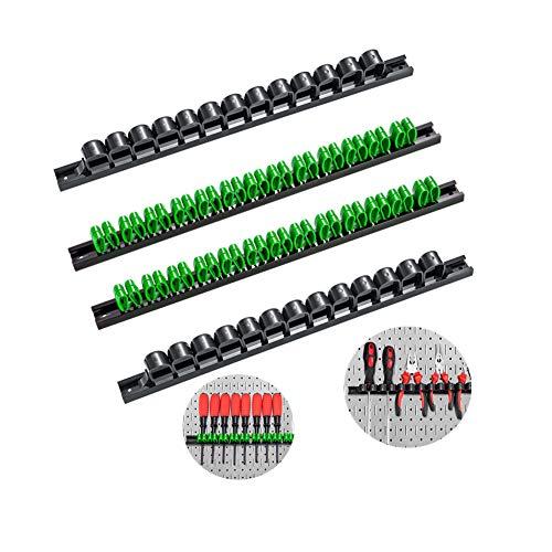 3-H Schraubenzieher Halterung Wand ,Gerätehalter Wandhalterung, Werkzeughalter Wand für Schraubendreher Ringschlüssel Handwerkzeug zangenhalter klemmhalter zangen