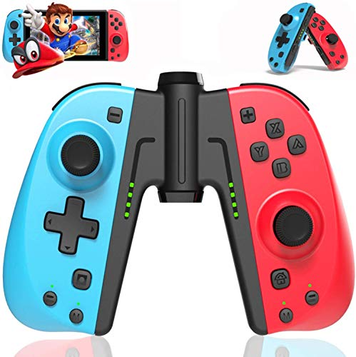 GEEMEE Wireless Controller for Nintendo Switch/Switch Lite, Bluetooth Switch Controller Joypad Joystick Compatible with Nintendo Switch Console as a Joy-Con Controller Replacement