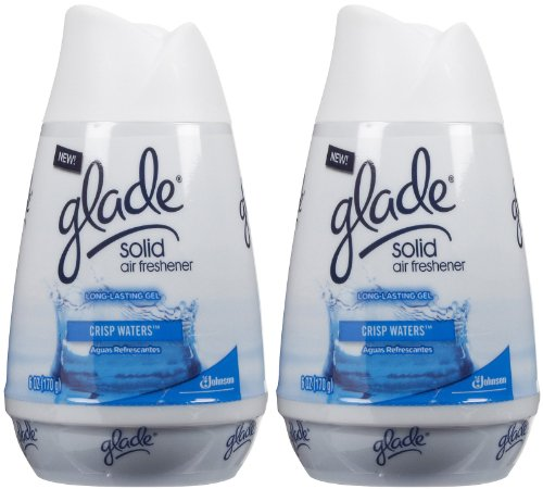 Glade Solid Air Freshener - Crisp Waters - 6 oz - 2 pk
