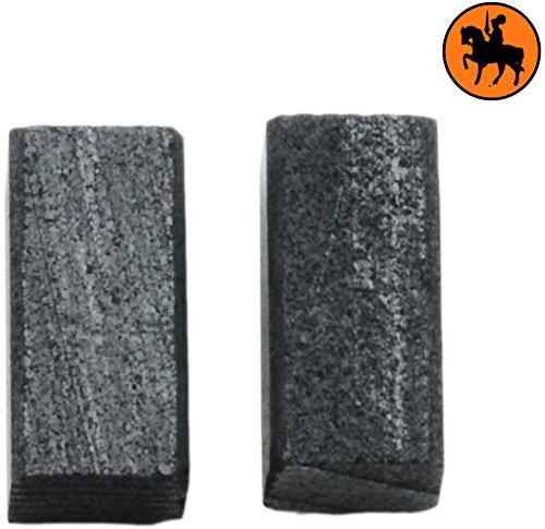 Kohlebürsten für BLACK & DECKER CD400 -- 5x5x10mm -- 2.0x2.0x3.9\'\'