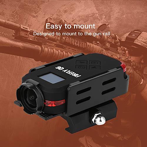 Godyluck Firefly Q6 Airsoft Kamera 2.5K HD Action Kamera OLED Bildschirm 120 ° Weitwinkel Action Sport Kamera für Airsoft Spiel