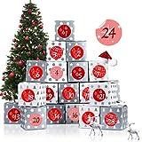 Bluelves Calendario de Adviento, 24 Calendario Adviento, Bolsa para...