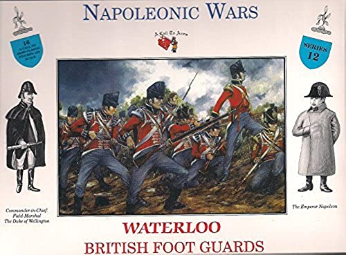 British Foot Guards at Waterloo - 1 32 Plastic Soldier Kit by A Call To Arms by A Call to Arms