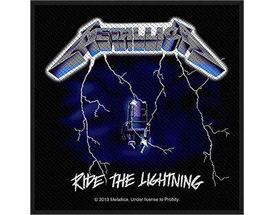 Metallica Ride The Lightning Patch (10cm x 10cm)
