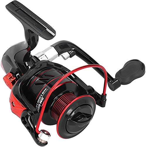 TAIDENG Ceyrod Reel, accesorios de pesca Relle, pesca Paul Ice Fishing Rock Phishing Reel Relax Phishing Rod pesca al aire libre (color DM6000)