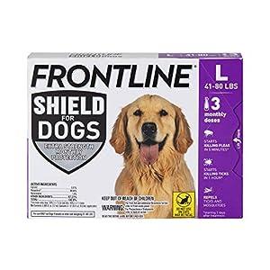 Frontline Shield for Dogs Flea & Tick Treatment