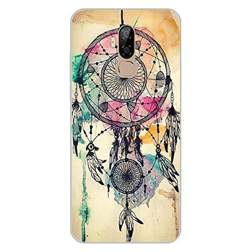 Easbuy Handy Hülle Soft TPU Silikon Hülle Etui Tasche für Ulefone Power 3L Ulefone P6000 Plus Smartphone Bumper Back Cover Handytasche Handyhülle Schutzhülle