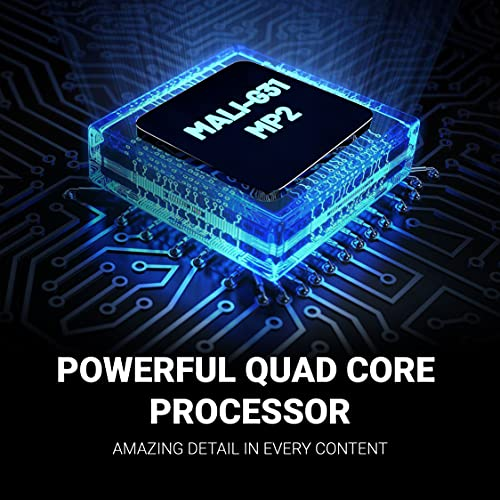 Huidi 80 cm (32 Inches) HD Ready Smart LED TV HD6FS-PRO (Black) (2021 Model) | Frameless Display