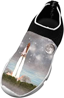 Astronaut New Fashion Flywire Knitting 3D Printing Sneaker For Unisex Kids