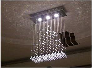 GOWE LED Crystal Chandelier Lighting Fixture Crystal Lustre Lamp