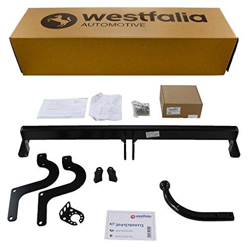 Starre Westfalia Anhängerkupplung für C4 Picasso / Grand Picasso, 308 Fließheck (alle ab BJ 09/13) im Set mit 13-poligem fzg.-spez. Westfalia Elektrosatz