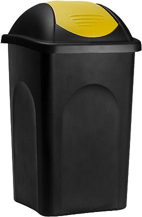 Amazon.fr : poubelle jaune tri - Bacs à ordures de cuisine / Déchets ...