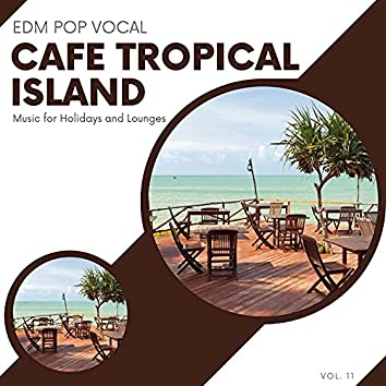 Cafe Tropical Island - EDM Pop Vocal Music For Holidays And Lounges, Vol.11