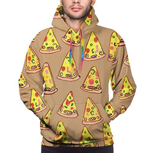Ham And Pineapple Pizza herensweatshirt met capuchon, casual overhemd, tas