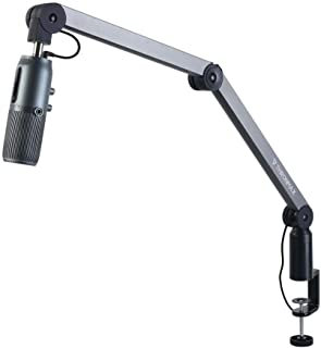 Thronmax S2-XLR Caster Premium Tube Style Broadcast Boom Arm ( Microphone not included)