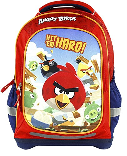 Target Superlight Angry Birds Mochila escolar, 43 cm, 38 liters, Rojo (Rosso)