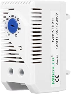 1Pc 0-60℃ Adjustable Compact Electric Mechanical Thermostat Temperature Controller Switch(KTS011)