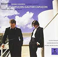 Brahms: Double Concerto & Clarinet by Renaud Capucon (2015-01-14)