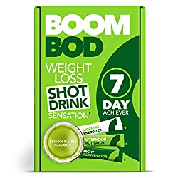 QUICK & TASTY - Lose weight without feeling hungry. Only 10 calories per sachet and UK's #1 sold weight loss shot drink. CLINICALLY PROVEN WEIGHT LOSS - Contains the natural glucomannan konjac root fiber, clinically proven to aid in weight loss. UNIQ...