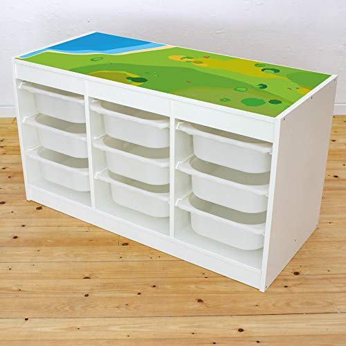 Limmaland Muebles en Adhesivo Juego Wiese – Apto para IKEA Trofast ...