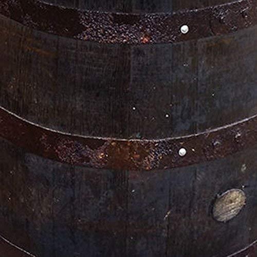 Gerecycled massief eiken whisky vat midden salontafel | Patio tafel | Bijzettafel (Rustic Oak)