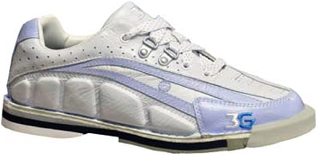 3G Tour Ultra Periwinkle/Ivory Women's Left Hand Bowling Shoes, Size