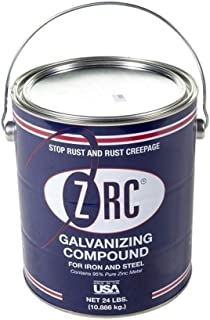 ZRC 10003 Cold Galvanizing Compound | Single Gallon | Iron and Steel Corrosion Protection | Matches Hot-Dip Galvanized Performance | Contains 95-Percent Metallic Zinc