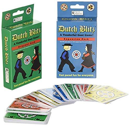 Dutch Blitz Original and Expansion Pack Set Card Game by Dutch Blitz