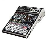 HBIN Mezclador de Audio DJ USB Mixer Reverb 48v Phantom Pantalla Digital Bluetooth Pc Interfaz Consola Mezcla grabación