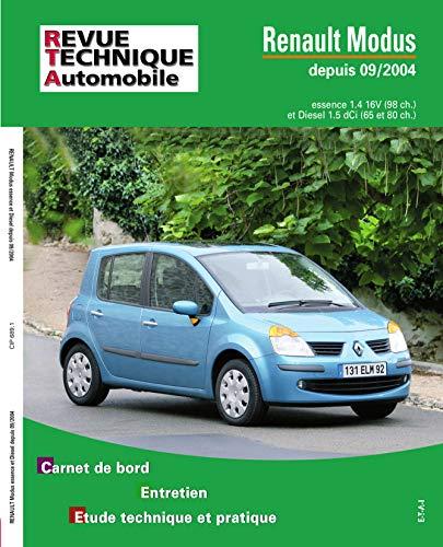 E.T.A.I - Revue Technique Automobile 689 - RENAULT MODUS - 2004 à 2007